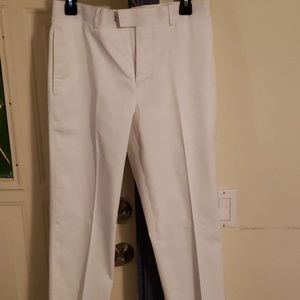 J. Ferrar White Dress Pants